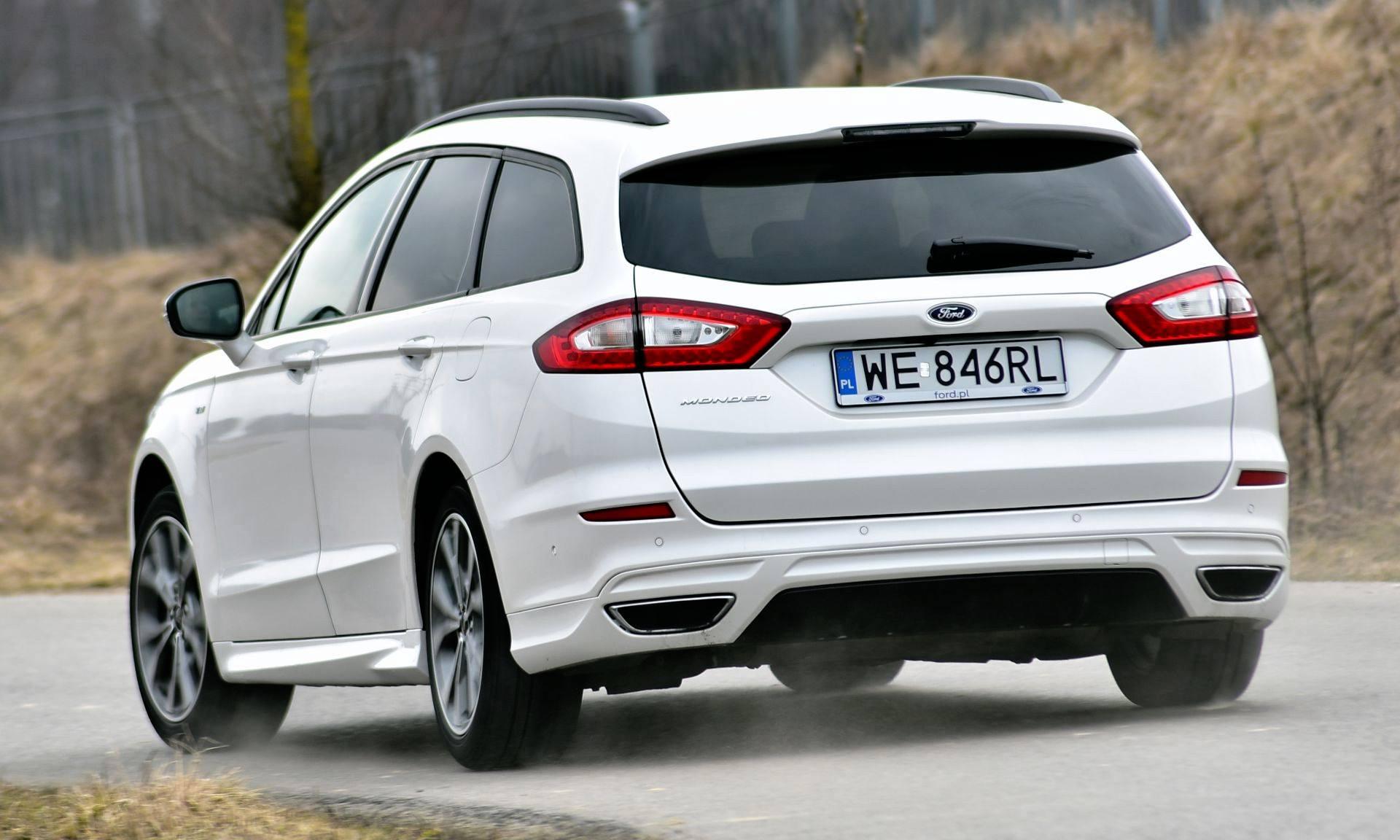 Ford Mondeo - dynamiczne