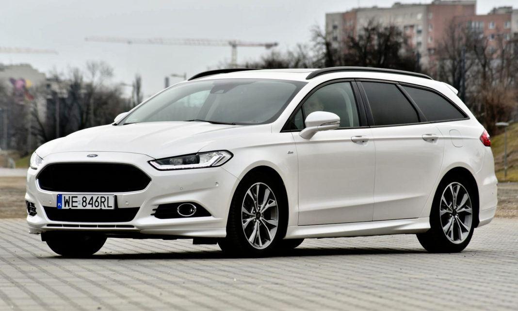 Ford Mondeo - przód