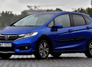 Honda Jazz - dane techniczne