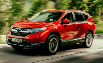 Honda CR-V - otwierające