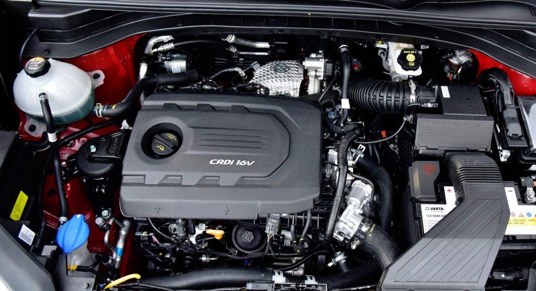 Kia Sportage - silnik