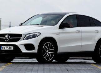 Mercedes GLE Coupe - dane techniczne