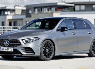 Mercedes klasy A - dane techniczne