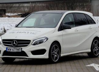 Mercedes klasy B - dane techniczne