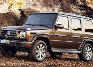 Mercedes klasy G - dane techniczne