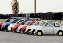 Minisamochody Fiata - otwierające