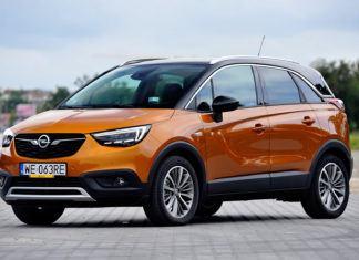 Opel Crossland X - dane techniczne