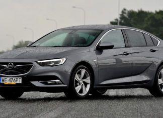 Opel Insignia - dane techniczne
