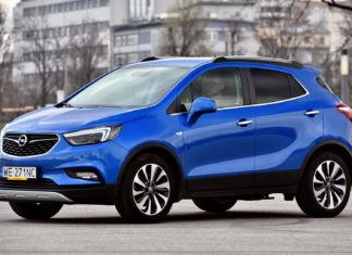 Opel Mokka X - dane techniczne