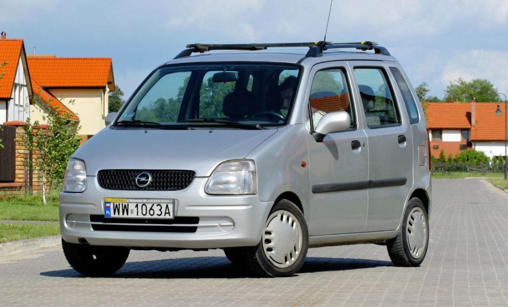 Opel 1.0 Ecotec - Opel Agila