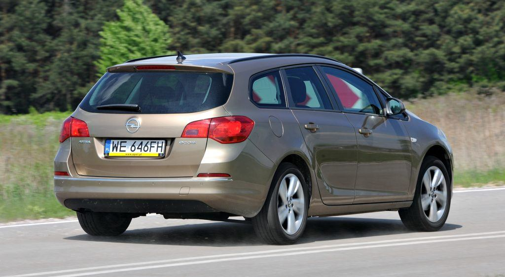 Opel Astra - fabryczne LPG