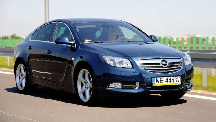 Opel Insignia - dynamiczne