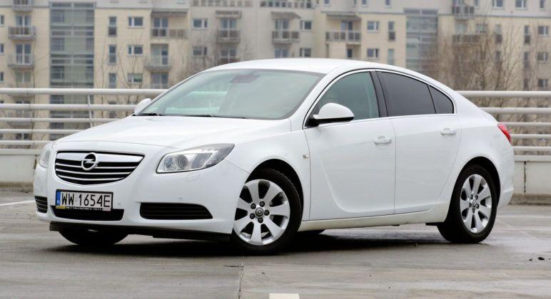 Opel Insignia - przód