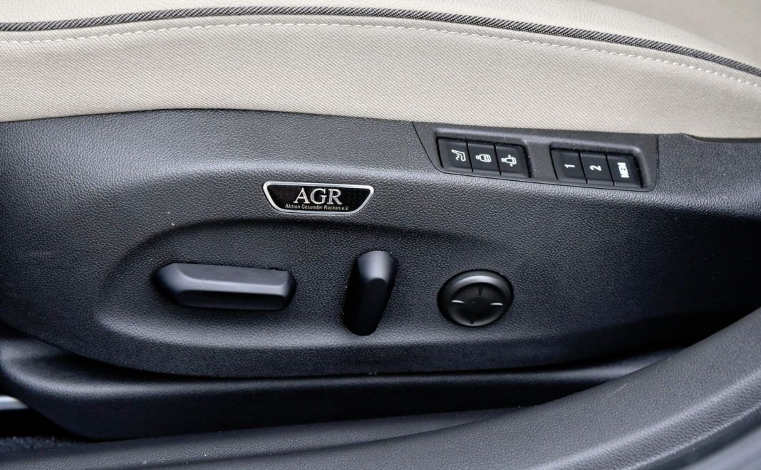 Opel Insignia - regulacja fotela