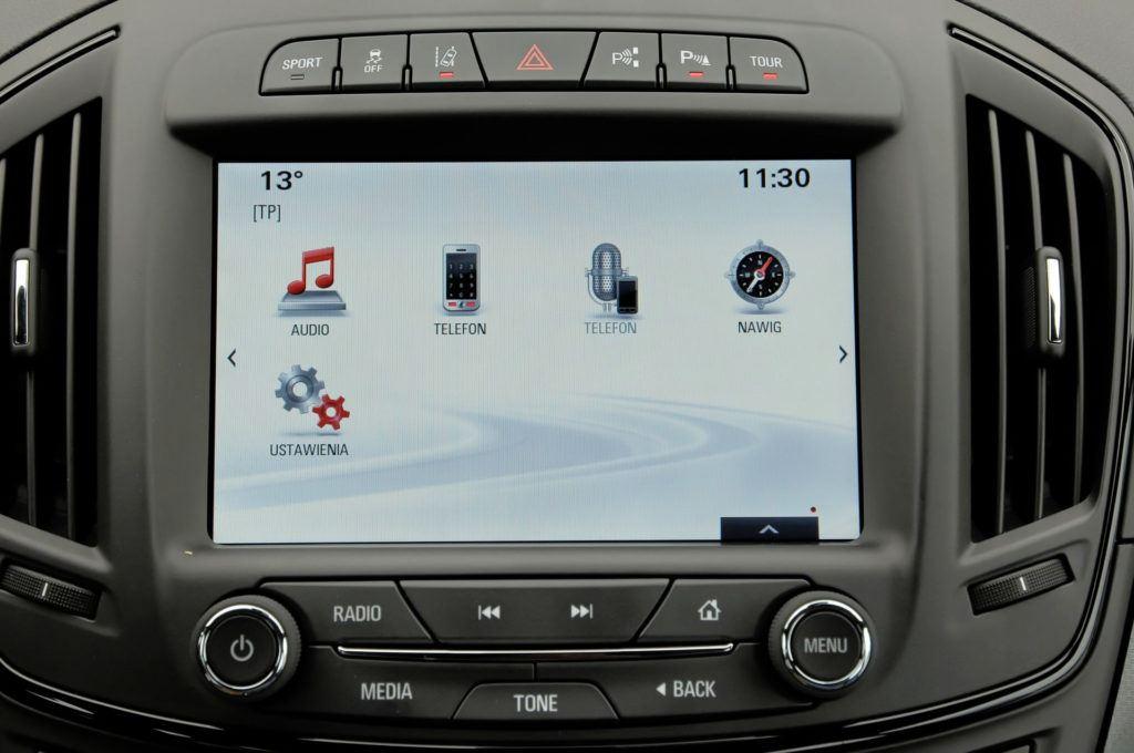 Opel Insignia - system multimedialny