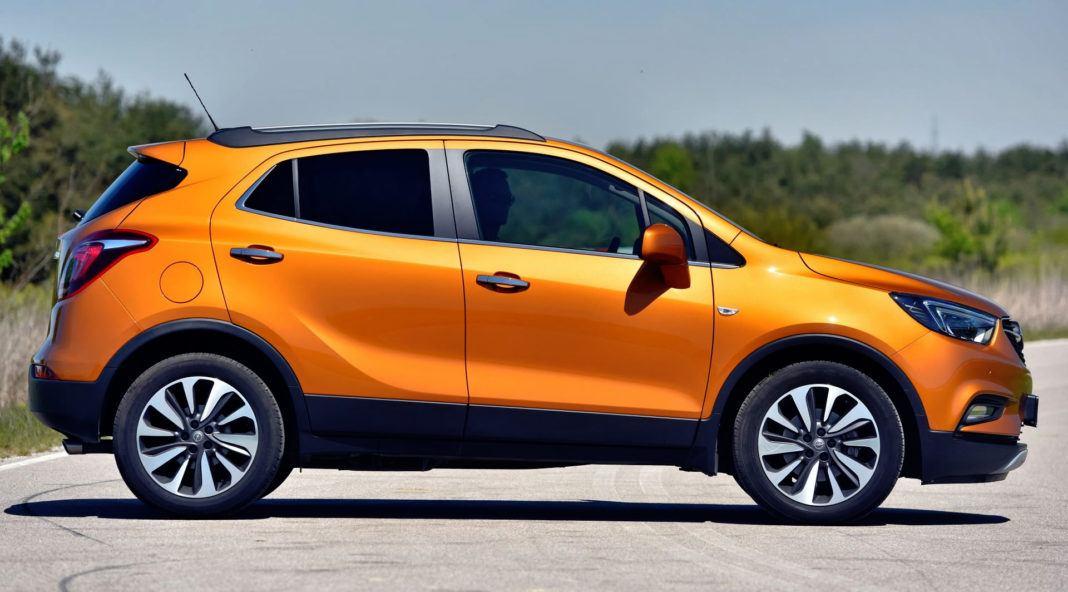 Opel Mokka X - bok