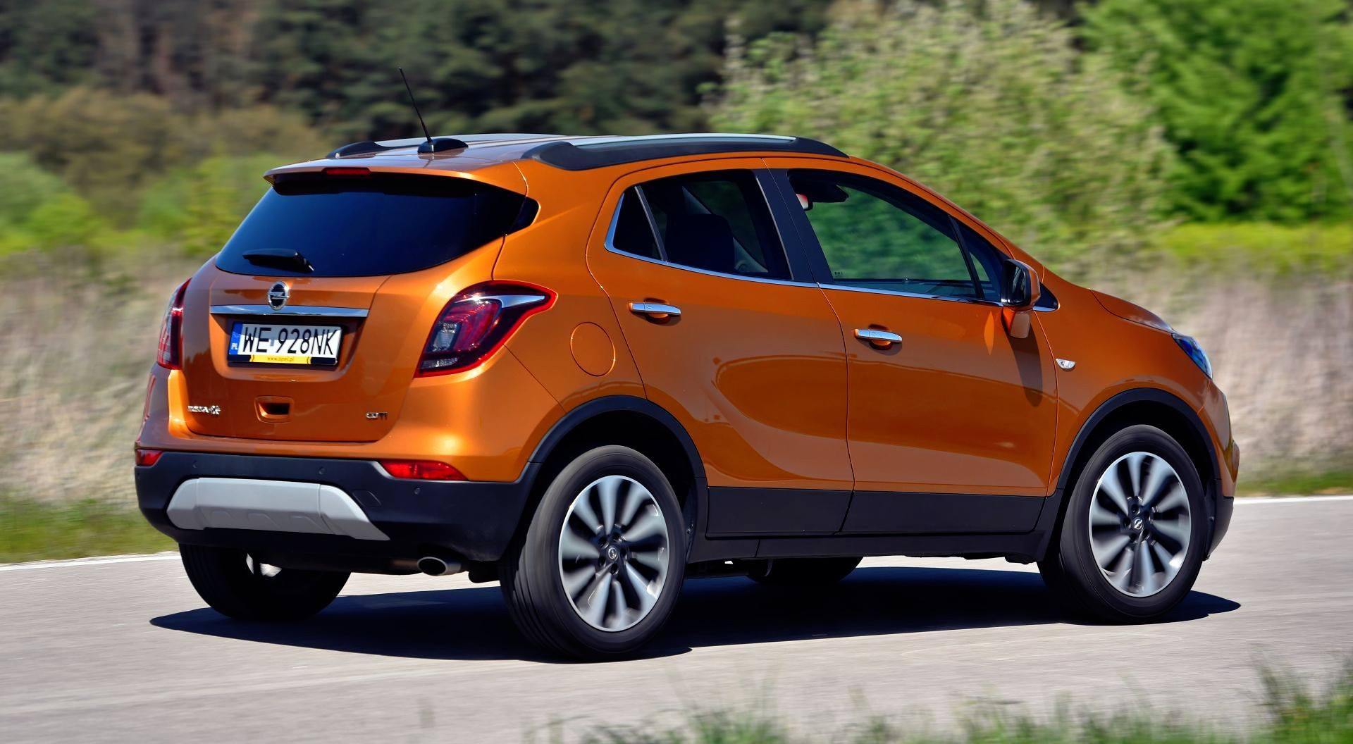 Opel Mokka X - dynamiczne