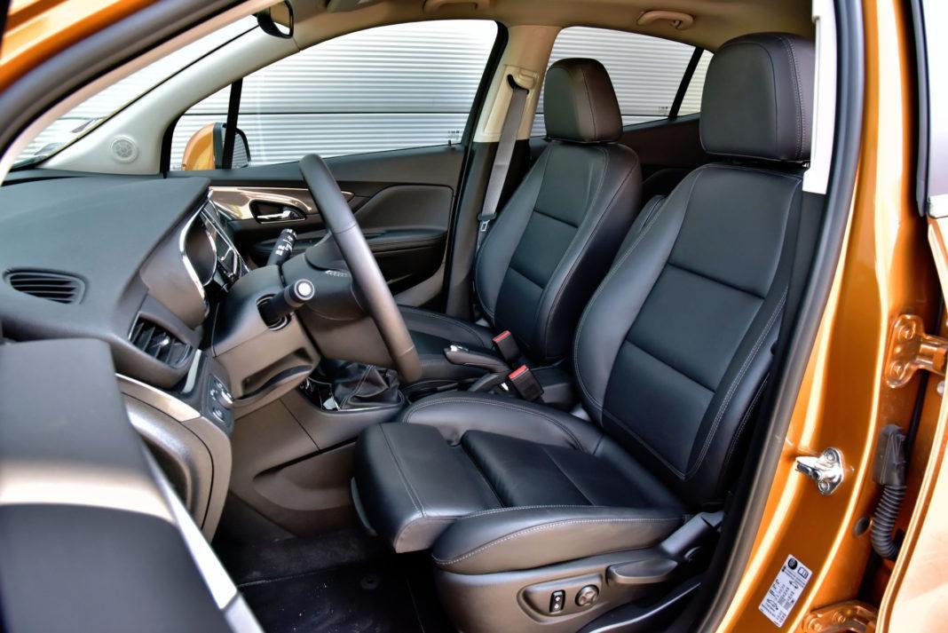 Opel Mokka X - fotel kierowcy