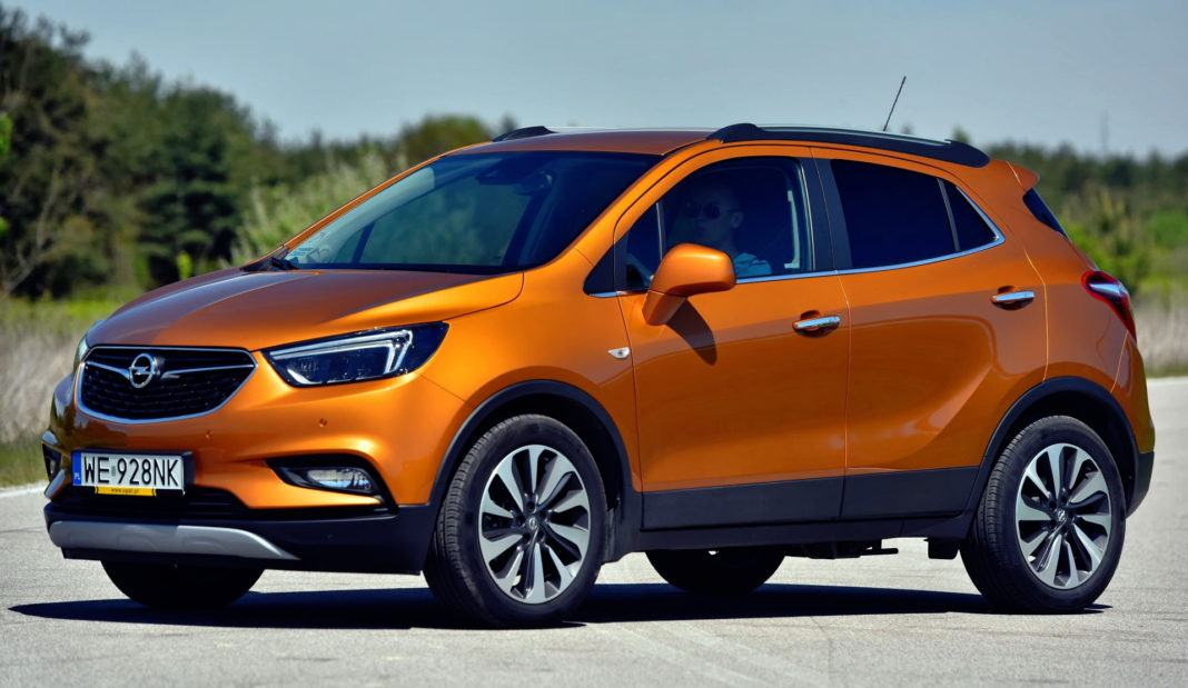 Opel Mokka X - przód
