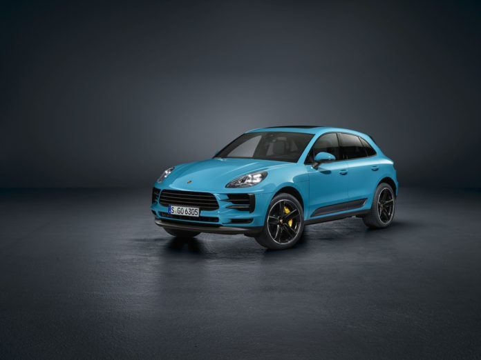 Porsche Macan po liftingu (2019)