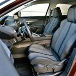 Peugeot 3008 - fotel kierowcy