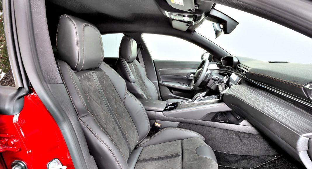Peugeot 508 - fotel pasażera