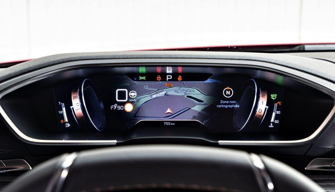 Peugeot 508 - zegary
