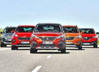 5 kompaktowych SUV-ów – PORÓWNANIE