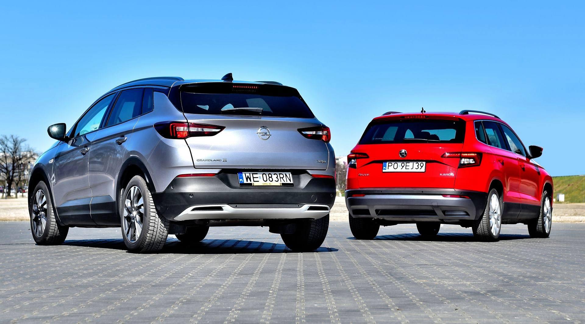 Porównanie Skoda Karoq Opel Grandland X