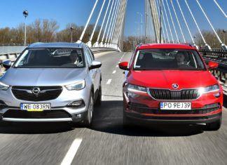 Opel Grandland X 1.2 Turbo, Skoda Karoq 1.5 TSI - PORÓWNANIE