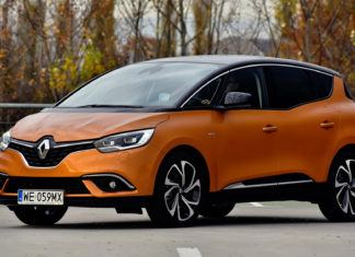 Renault Scenic - dane techniczne
