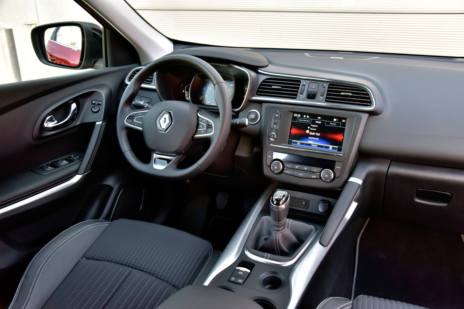 Renault Kadjar - deska rozdzielcza