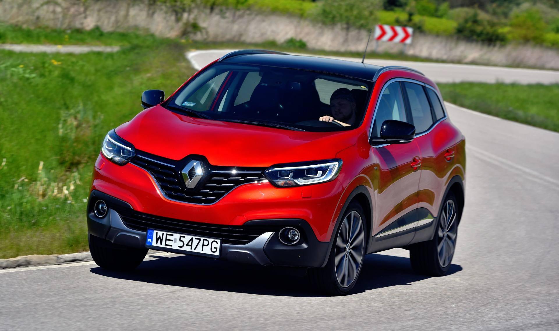 Renault Kadjar - dynamiczne