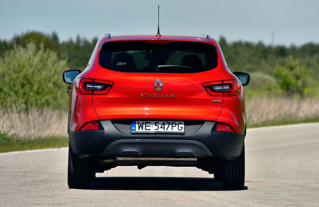 Renault Kadjar - tył