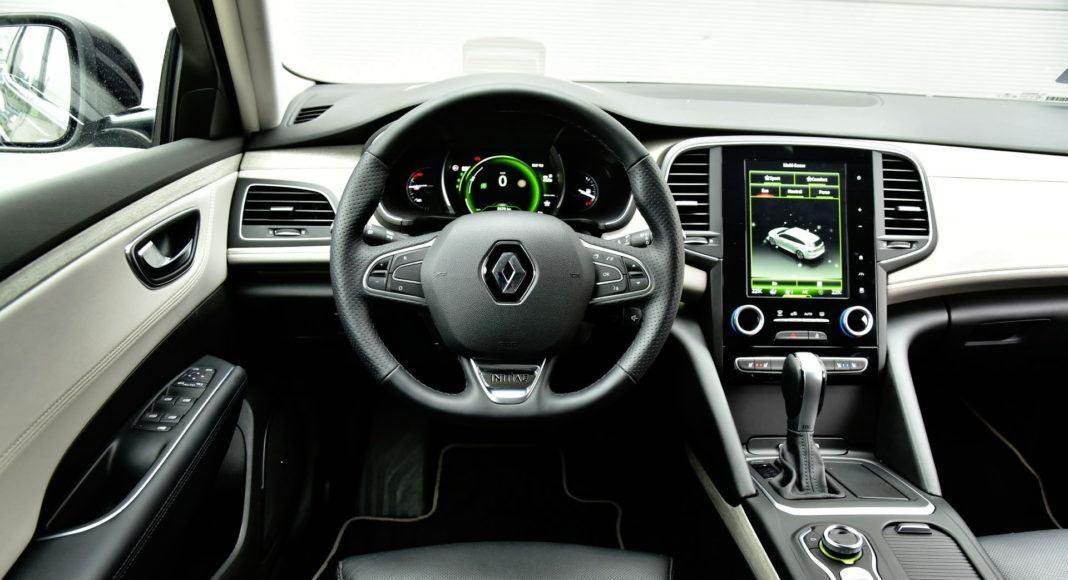Renault Talisman - deska rozdzielcza