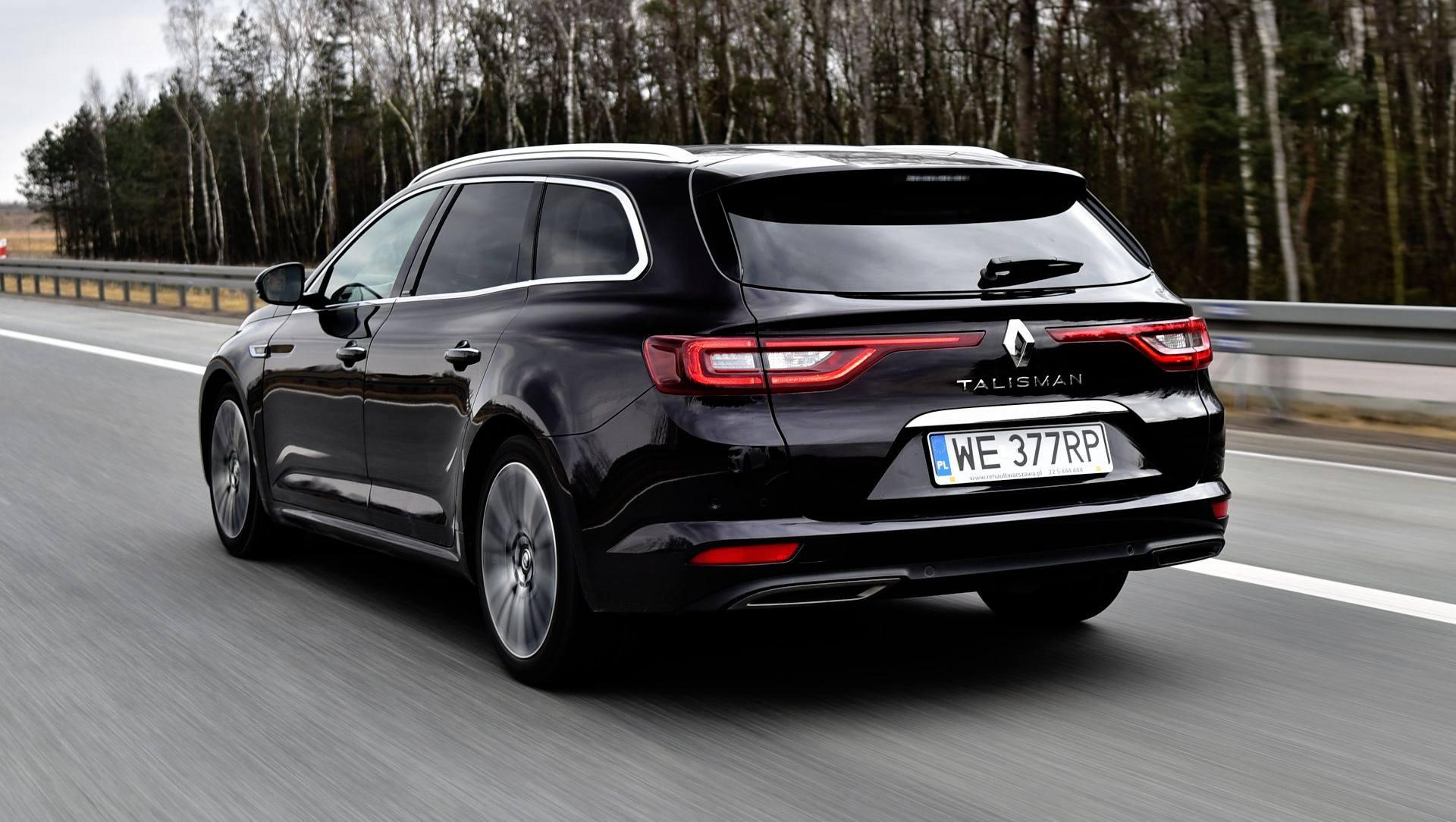 Renault Talisman - dynamiczne