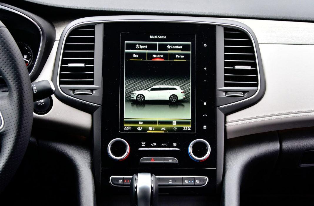 Renault Talisman - ekran centralny