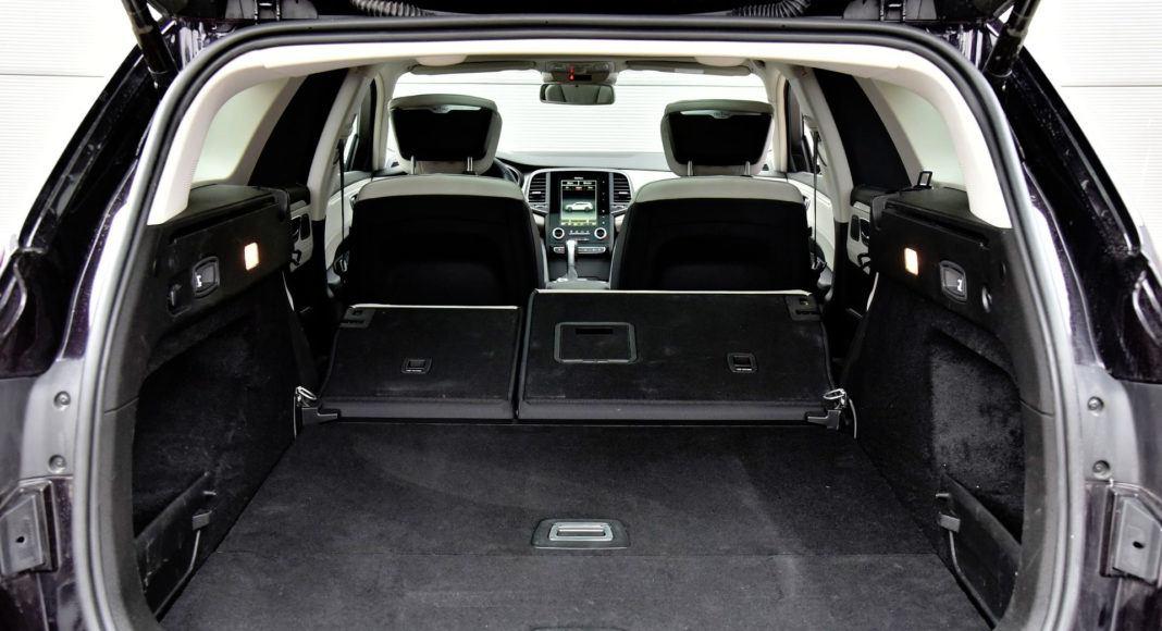 Renault Talisman - powiększony bagażnik
