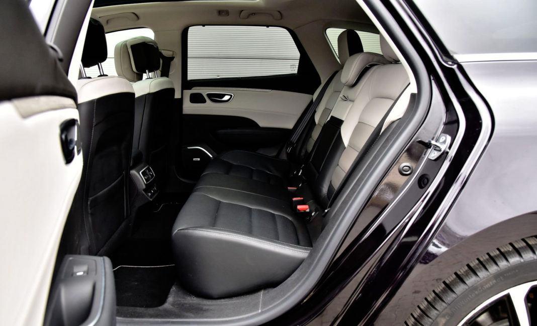 Renault Talisman - tylna kanapa