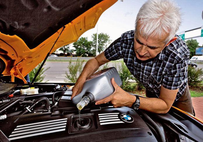 Silniki które biorą olej - otwierające