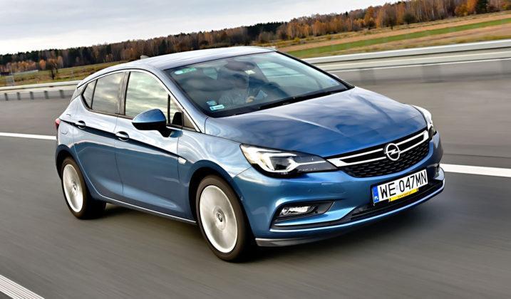 Spalanie - Opel Astra