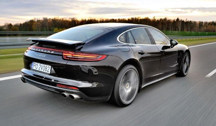 Spalanie - Porsche Panamera
