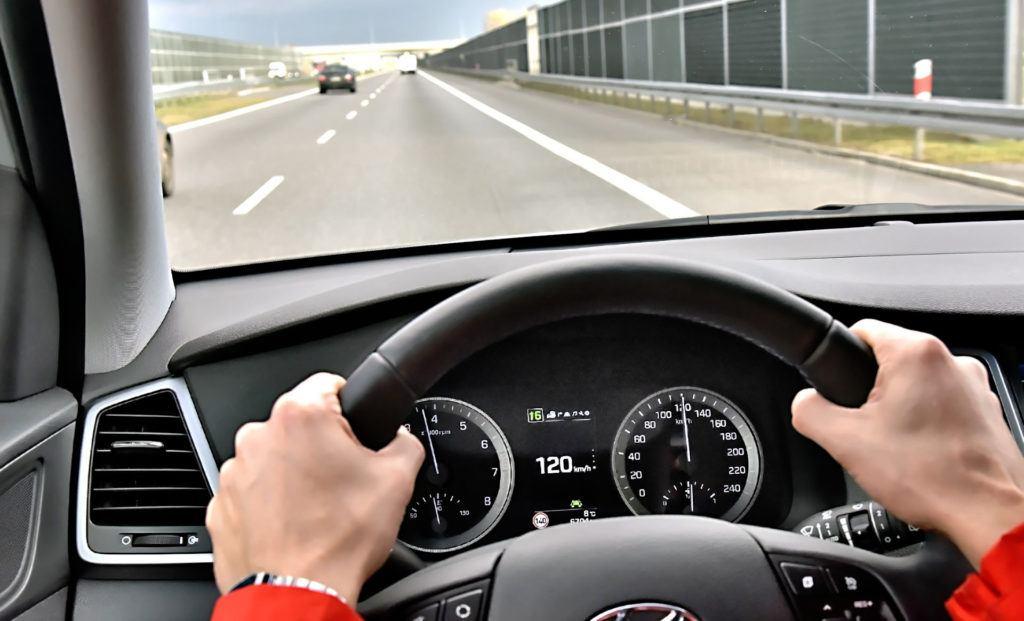 Spalanie na autostradzie - 120 kmh