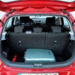 Suzuki Swift V - bagażnik