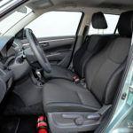 Suzuki Swift V - fotel kierowcy