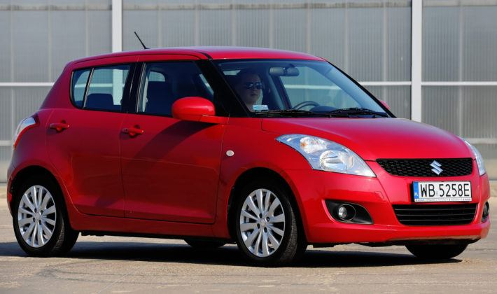 Suzuki Swift V - przód