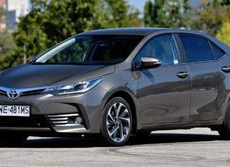 Toyota Corolla - dane techniczne