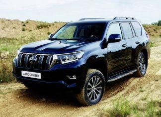 Toyota Land Cruiser - dane techniczne