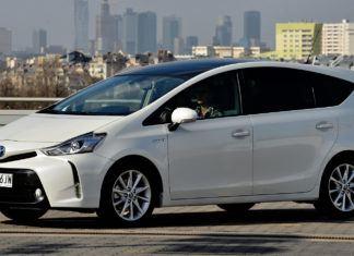 Toyota Prius+ - dane techniczne