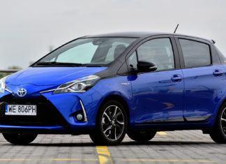 Toyota Yaris - dane techniczne